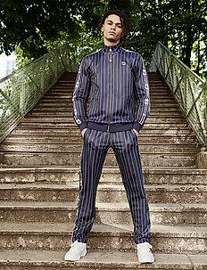 MEN HABEN AOP track pants - sweatpants - black iris