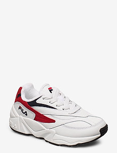 V94M JR - WHITE / FILA RED / FILA NAVY
