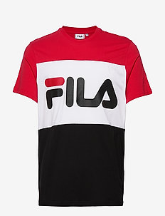 DAY TEE - t-shirts - true red-black-bright white