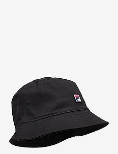 BUCKET HAT with F-box - bucket hats - black
