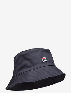 BUCKET HAT with F-box - bucket hats - black iris