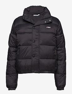 Raya Puff Jacket - BLACK