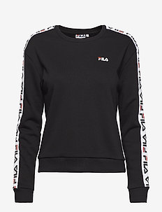 WOMEN TIVKA crew sweat - BLACK