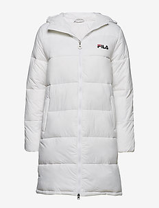 WOMEN Zia Long Puff Jacket - BRIGHT WHITE