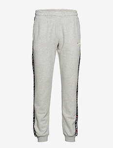 MEN TADEO tape sweat pants - LIGHT GREY MELANGE