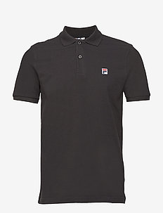 MEN EDGAR polo ss - kortärmade pikéer - black