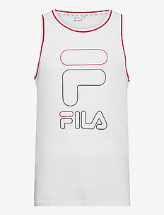 MEN JANIC sporty tank top - tank tops - bright white