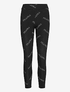 WOMEN JANE AOP 7/8 leggings - sportlegging en korte broek - black