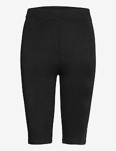 WOMEN JANESSA short leggings - sportlegging en korte broek - black