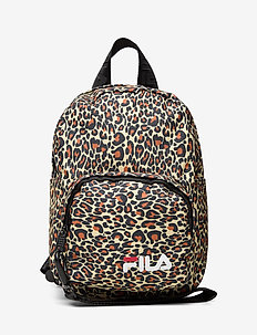 VARBERG AOP mini strap backpack - ALLOVER LEO