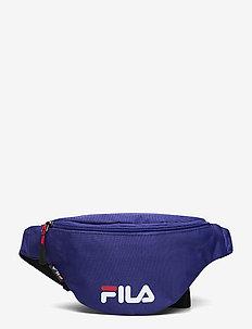 WAIST BAG SLIM (small logo) - bæltetasker - clematis blue