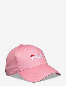 6 PANEL CAP with linear logo/strap back - casquettes - peony