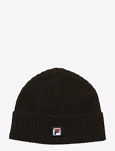 UNISEX FISHERMAN beanie F-BOX - BLACK