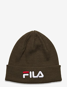 BEANIE with linear logo - czapka - grape leaf