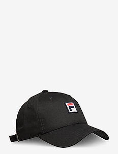 DAD CAP with F-box logo/strap back - caps - black