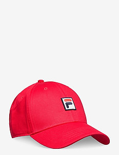 DAD CAP with F-box logo/strap back - petten - true red
