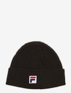 FISHERMAN BEANIE with F-box logo - mutsen - black