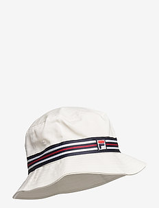 BUCKET HAT with heritage tape - bucket hats - blanc de blanc
