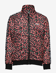 KIDS TALISA AOP track jacket - bluzy - leo lobster bisque allover