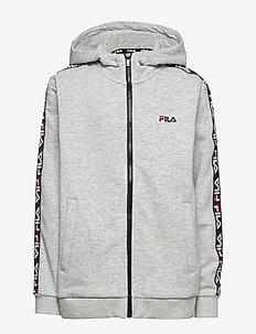 KIDS ADARA zip jacket - IGHT GREY MELANGE BROS