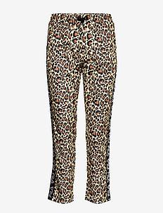 WOMEN PANIZ cropped pants - spodnie dresowe - allover leo