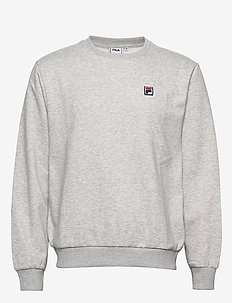 MEN HECTOR crew sweat - LIGHT GREY MELANGE BROS