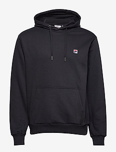 MEN VICTOR hoody - basic sweatshirts - black