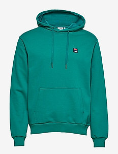 MEN VICTOR hoody - basic sweatshirts - everglade