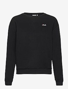 WOMEN EFFIE crew sweat - sweatshirts - black