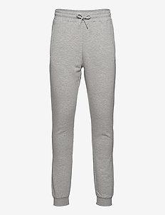 MEN EDAN sweat pants - sweatpants - light grey melange bros