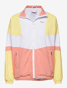 WOMEN BAKA woven track jacket - tunna jackor - limelight-bright white-lobster bisque