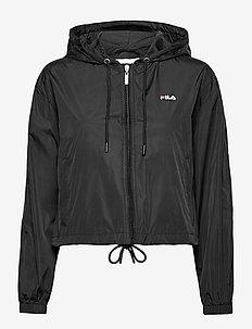 WOMEN EARLENE woven jacket - leichte jacken - black