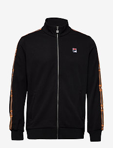 MEN HABEN track jacket - basic sweatshirts - black