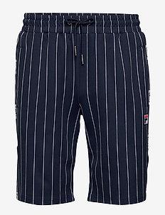 MEN HALL AOP shorts - casual shorts - black iris