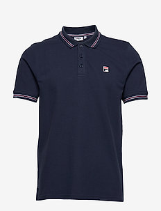 MEN MATCHO 4 polo shirt - kortärmade pikéer - black iris