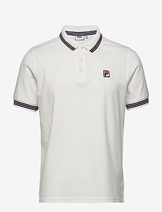 MEN MATCHO 4 polo shirt - kortærmede - blanc de blanc