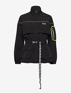 WOMEN UNA windbreaker - tunna jackor - black
