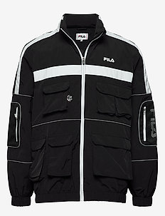 MEN UBA wind jacket - vindjakker - black