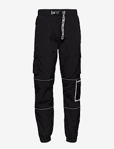 MEN UBA wind pants - BLACK