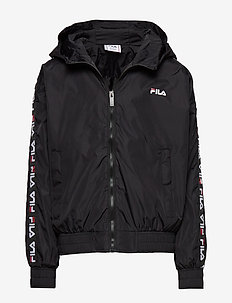 KIDS TAPA windbreaker - BLACK
