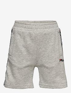 KIDS TAPPEN shorts - LIGHT GREY MELANGE BROS