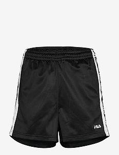 WOMEN TARIN shorts - high waist - casual korte broeken - black-bright white