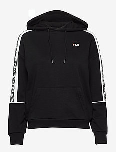 WOMEN TAVORA hoody - BLACK-BRIGHT WHITE