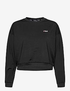 WOMEN TALLIS sweat shirt - bluzy - black