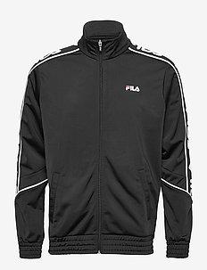 MEN TED track jacket - basic sweatshirts - black
