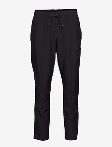 MEN TAMAS tapered pants with pintuck - sweatpants - black