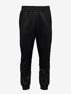MEN TAHIR track pants - BLACK-BLANC DE BLANC