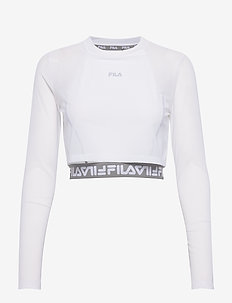 WOMEN MAGENTA cropped double layer top - crop-topit - bright white