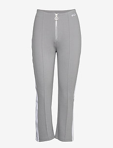 WOMEN MABLI cropped pants - sweatpants - monument-bright white