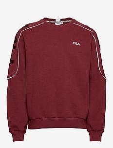 MEN MAHAK crew sweat - basic sweatshirts - cabernet